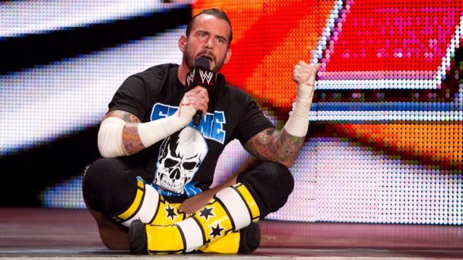 Relive CM Punk's WWE Television Debut Match…