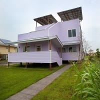 Frank Gehry's Vernacular New Orleans House; FRANK. GEHRY. VERNACULAR?!? WHAT?!?