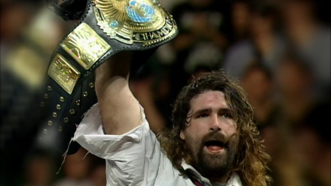 OF COURSE, WWE Legend Mick Foley Fought The Walking Dead's Negan At A Comic Con Last Weekend…