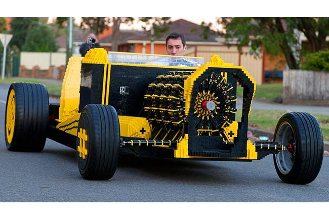 Ladies & Gentlemen, The Full-Sized LEGO Car!