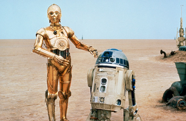 Forget RoboCop, remember the Japanese Pro Wrestling Match with C-3P0 and R2-D2?