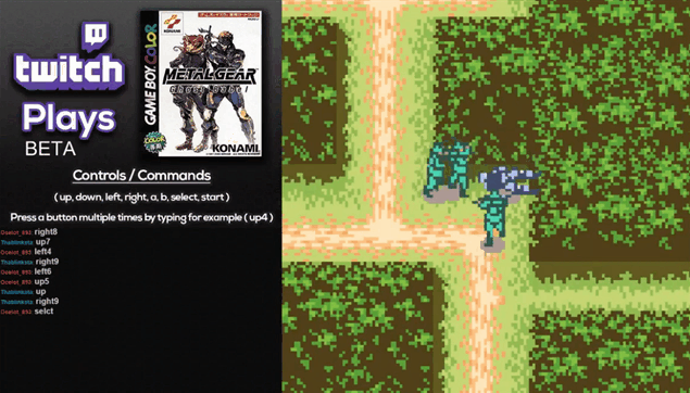Twitch Is Playing 'Metal Gear: Ghost Babel' through Crowdsourcing; Pretty Decently…