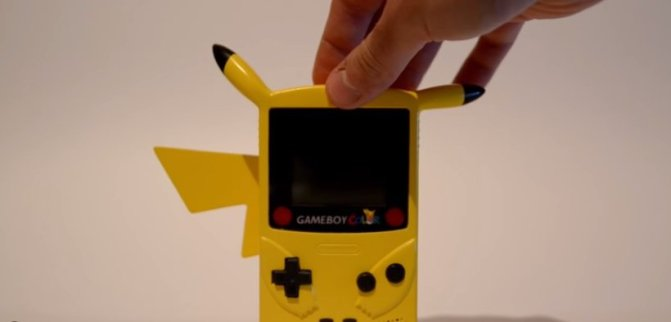 This custom 'Pikaboy' Game Boy Color is…just…AWESOME!!!