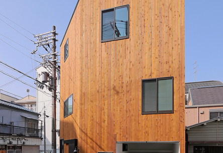 The House in Chiyosaki by Coo Planning