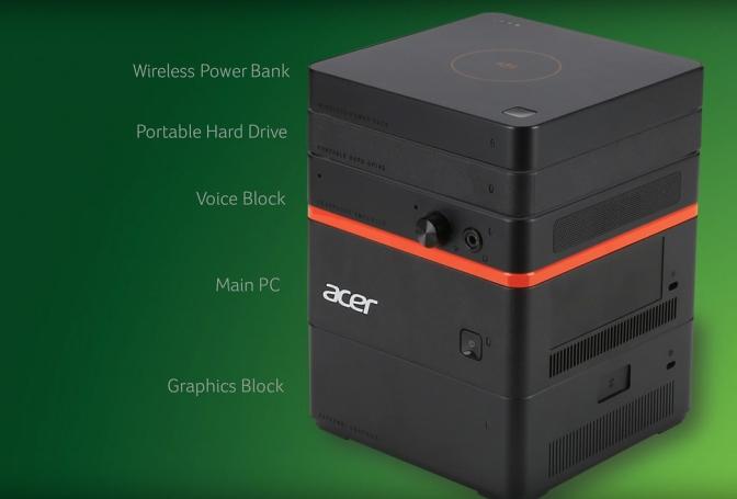 Meet the new Acer Revo Build, the Stackable, Modular Desktop PC