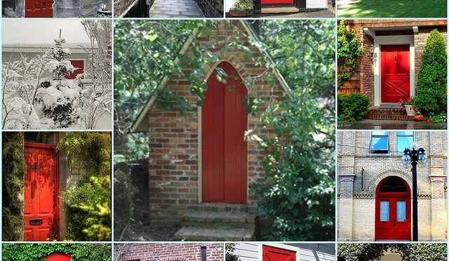Some History Behind Why Some Front Doors are Red… | The PractitioNERD