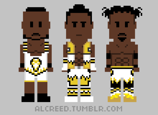 Check Out this Awesome WWE Old School 8-Bit Fan Art!!