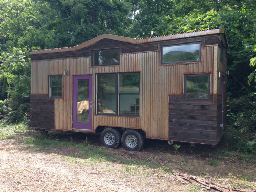 Woman Builds 246 Square Foot Tiny Home on Wheels for $53K