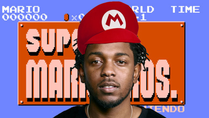 Ladies & Gentlemen, A Kendrick Lamar – Super Mario Bros. Mash-Up!