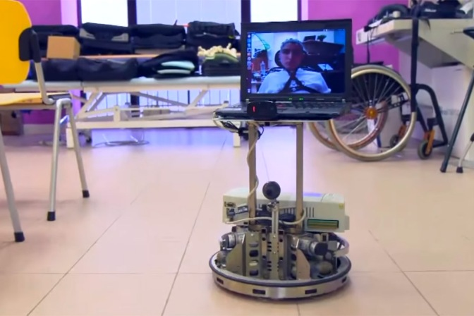 Behold this Mind-controlled Robot That Gives the Disabled a Taste of Travel