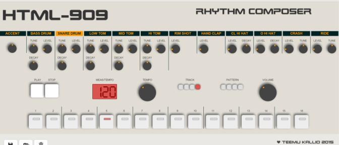 Do Not Play This HTML5 Drum Machine If You Have Any Plans Today…