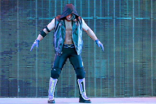 AJ Styles. In the WWE. That is All…