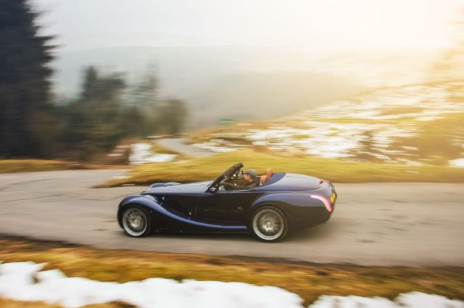 Classic Sports Car maker, Morgan, is going Electric