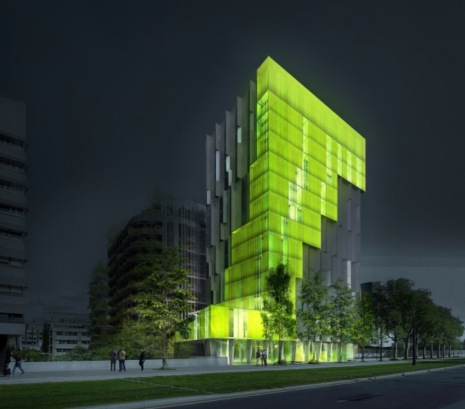"XTU Architects' ""In Vivo"" Green Project was a Winner of the Réinventer.Paris Competition"