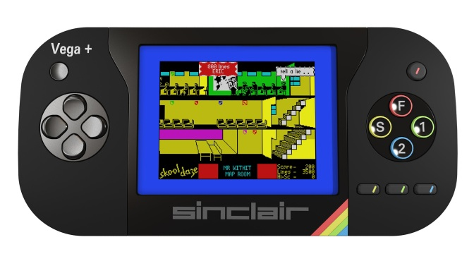 Could the ZX Spectrum return as a Handheld Games Console?