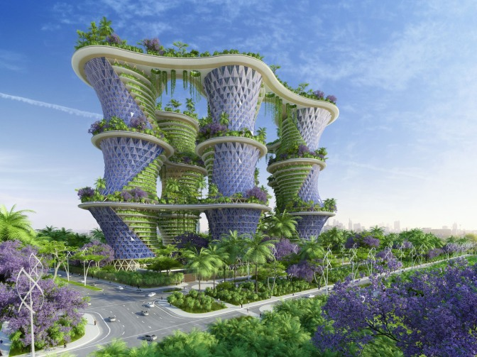 The Hyperions, an Eco-Neighborhood that Produces Energy in India