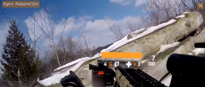 Watch this Competitive Paintball Match edited to look like 'The Division…""