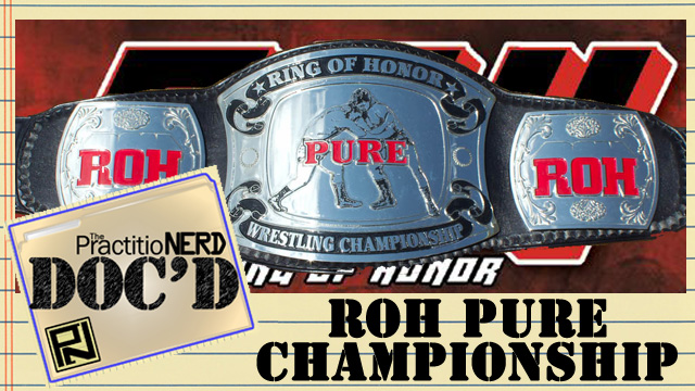 ring of honor pure wrestling championship