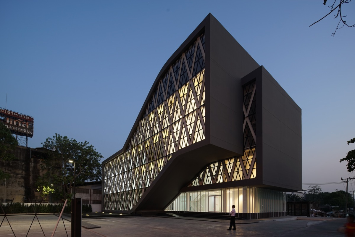 Here's Atelier of Architects' Saengthai Rubber Headquarters
