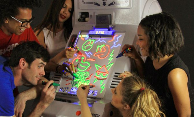 Live Your Dream of Designing Pinball Tables with this Drawable Pinball Machine!