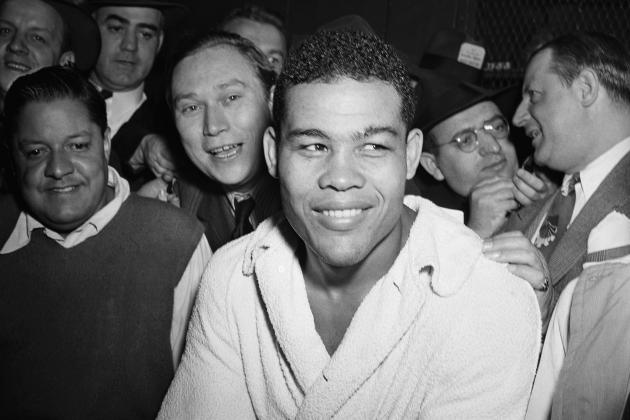 Here's some Video from Two Matches from Legendary Boxer Joe Louis' Pro Wrestling Career…
