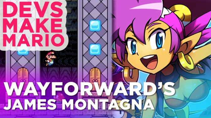 Watch 'Shantae' designer James Montagna build a level in 'Super Mario Maker'