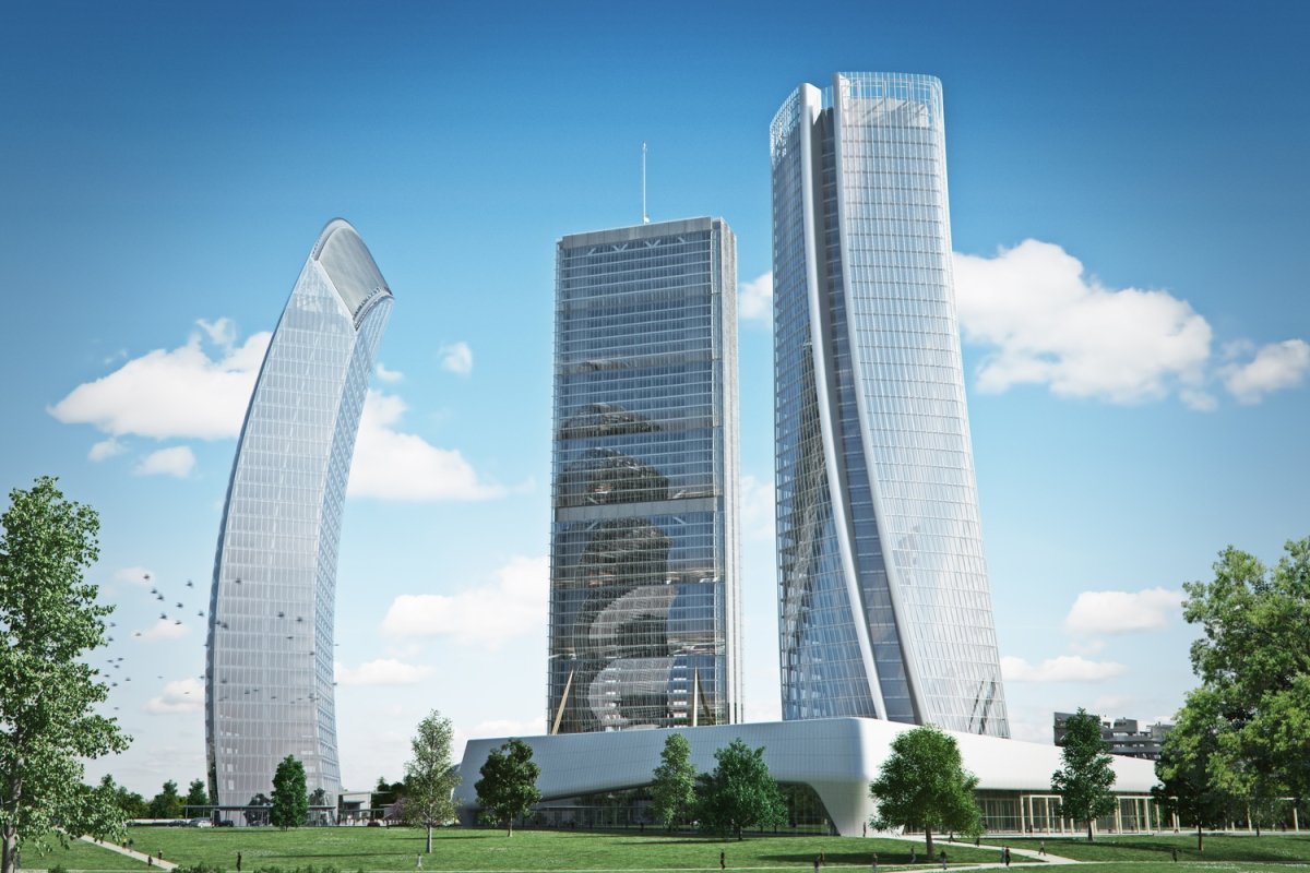 Zaha Hadid Architects' Generali Tower Tops Out in Milan