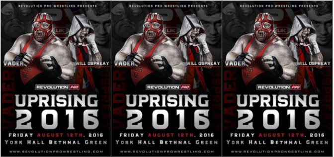 Twitter Feud Leads to Match between Will Ospreay and Big Van Vader!