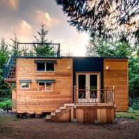 Who Says 'Tiny Homes' CAN'T Have Roof Decks? Not Luke & Tina, THAT'S For Sure!
