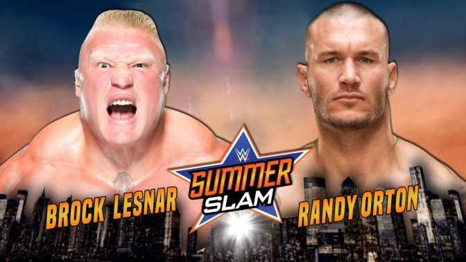 Brock Lesnar & Randy Orton Wrestled Each Other Only ONCE BEFORE in 2002