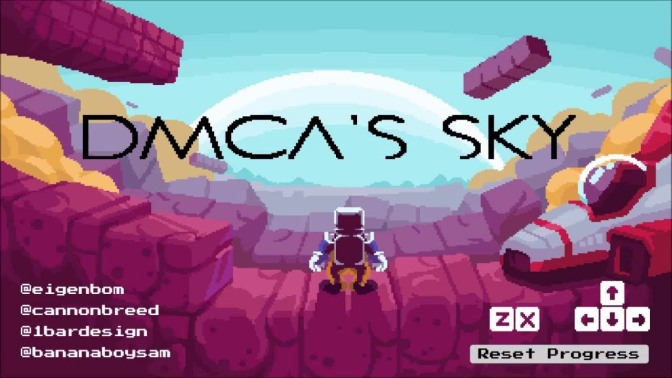 Nintendo takes down 'No Mario's Sky' fan game; its developer re-uploads it as 'DMCA's Sky'