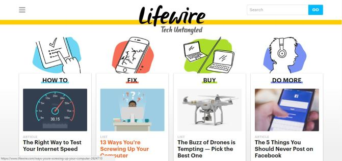 Need Some Tech Tips? Check out About.com's Lifewire.