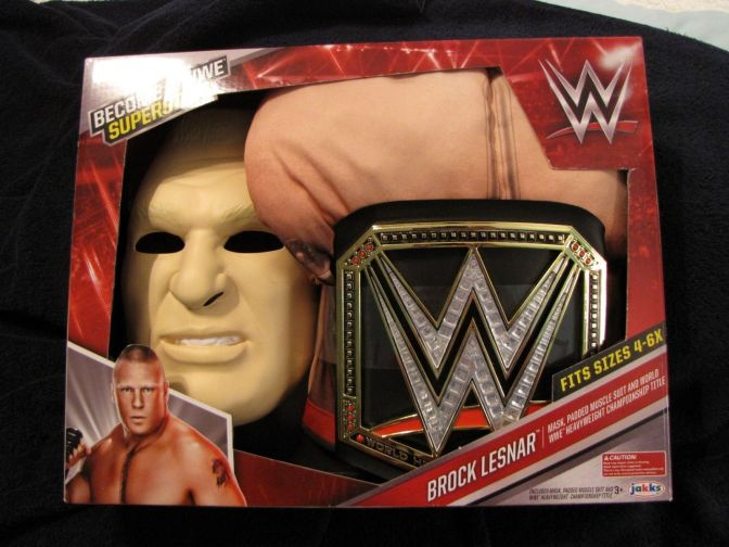 WWE's Brock Lesnar Halloween Costume is Scarier Than THE REAL Brock Lesnar…