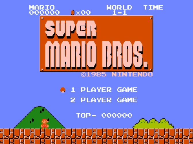 New 'Super Mario Bros.' World Record Claimed by Only .05 Seconds