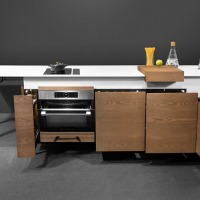 Dsignedby's 'Kitch'T,' the Space-Saving, Movable, All-in-One, Designer Kitchen island!