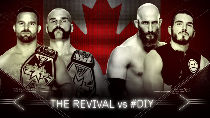 Hey Guys! How AWESOME was that #DIY vs. The Revival NXT Tag Team Title Match at Takeover: Toronto?!?