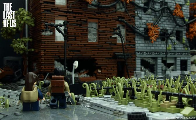 Here's 'The Last Of Us' Remade as a Giant LEGO Build…