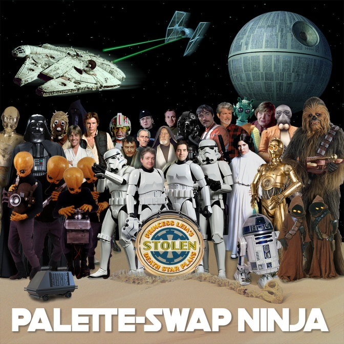 "Star Wars + Sgt. Pepper's LHCB = The ""Princess Leia's Stolen Death Star Plans"" Album"