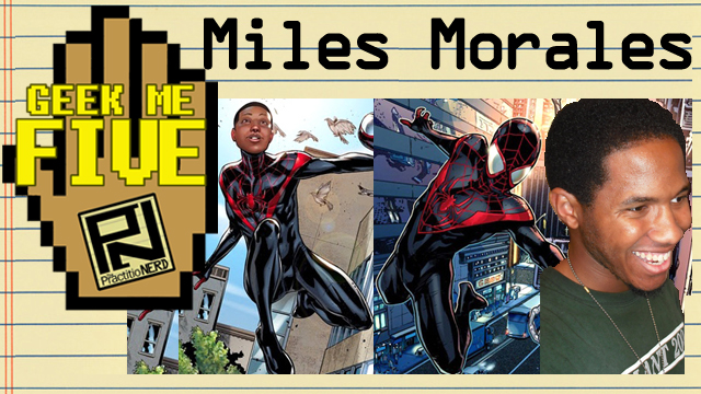 Miles Morales: Ultimate Spider-Man – Geek Me Five #28