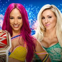 Sasha Banks vs. Charlotte Flair [WWE Women's Championship], WWE SummerSlam 2016