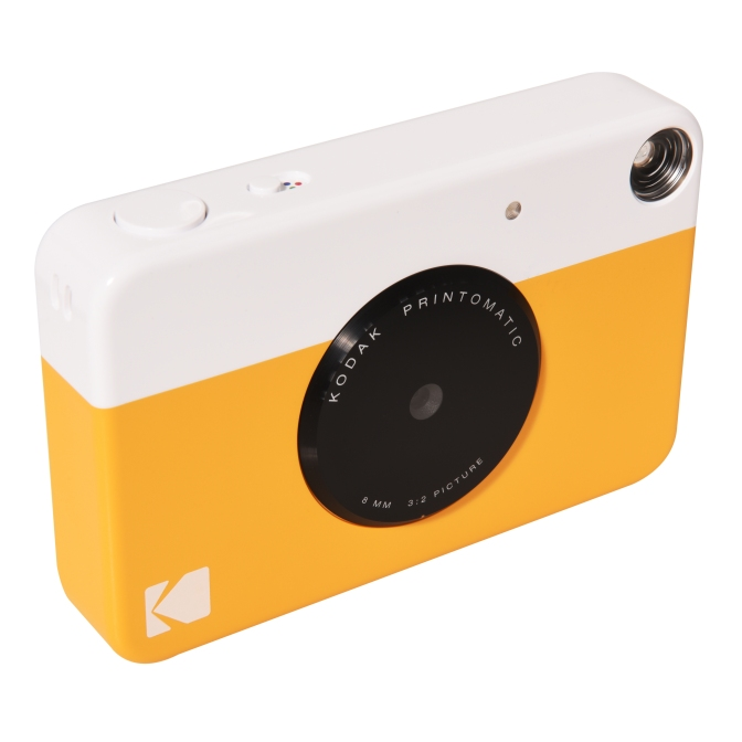 Meet the Kodak Printomatic, the Hybrid Instant Camera…