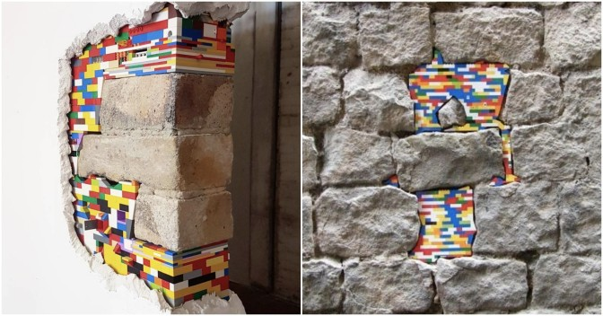 Need To Save Crumbling Buildings? Just Use LEGO!
