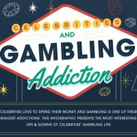 """Celebrities & Gambling Addiction"" from WebMastersJury"