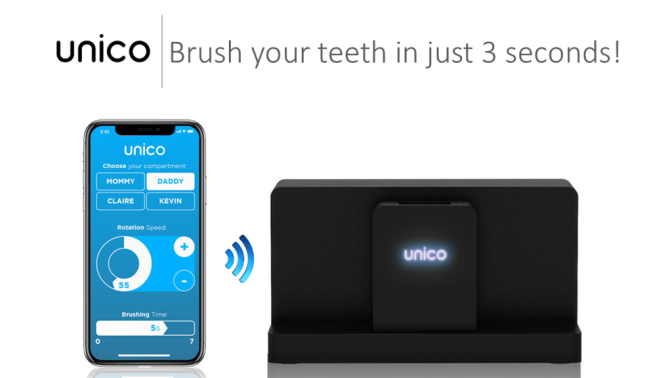 Introducing 'Unico,' the 3-Second Smartbrush Mouthpiece