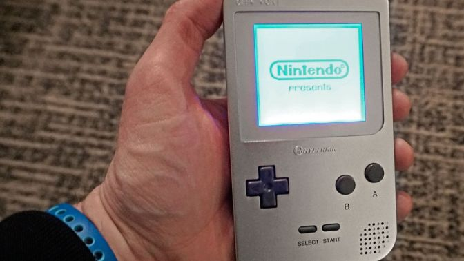 At #CES2018, 'Retron'-maker Hyperkin showed off its Game Boy Clone System