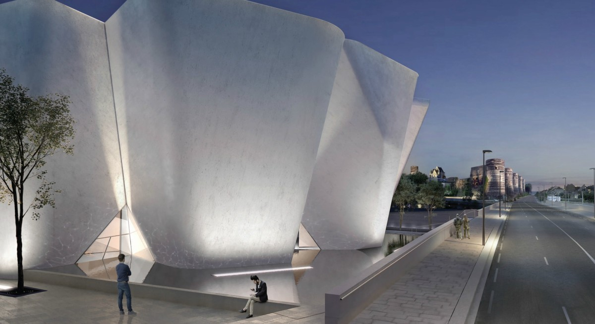 Steven Holl's Competition-Winning Museum Design Inspired by Historic 9th Century Fortress