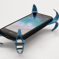 Ingenious Mobile 'Airbag' Phone Case Springs Out Legs to Save Your Phone When You Drop It; Because You WILL Drop It...