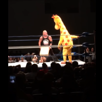Geoffrey, the Toys 'R' Us Giraffe, Entered A Royal Rumble, Fought A Vampire & Amazon Prime...