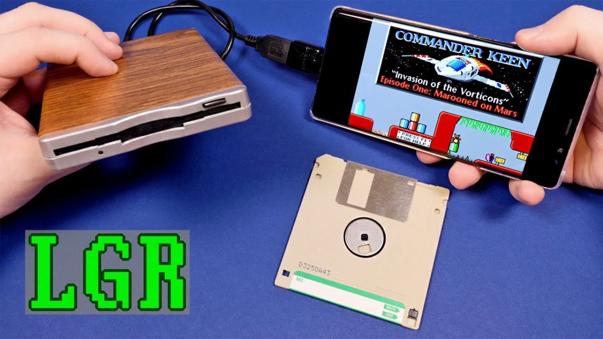 Why -- on God's Green Earth -- Would you Connect a Floppy Drive to your Android Phone?!?