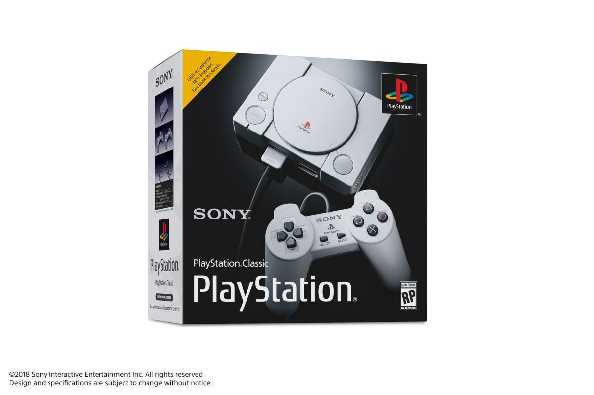 The PlayStation Classic Mini-Console is Arriving December 3rd!